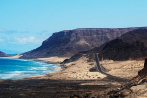 From Praia: Full-Day São Vicente Island Tour