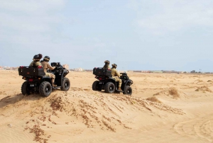 Sal Island: 2-hour ATV Quad Bike Desert Adventure