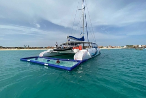 Sal Island: Half-Day Catamaran Adventure with Drinks