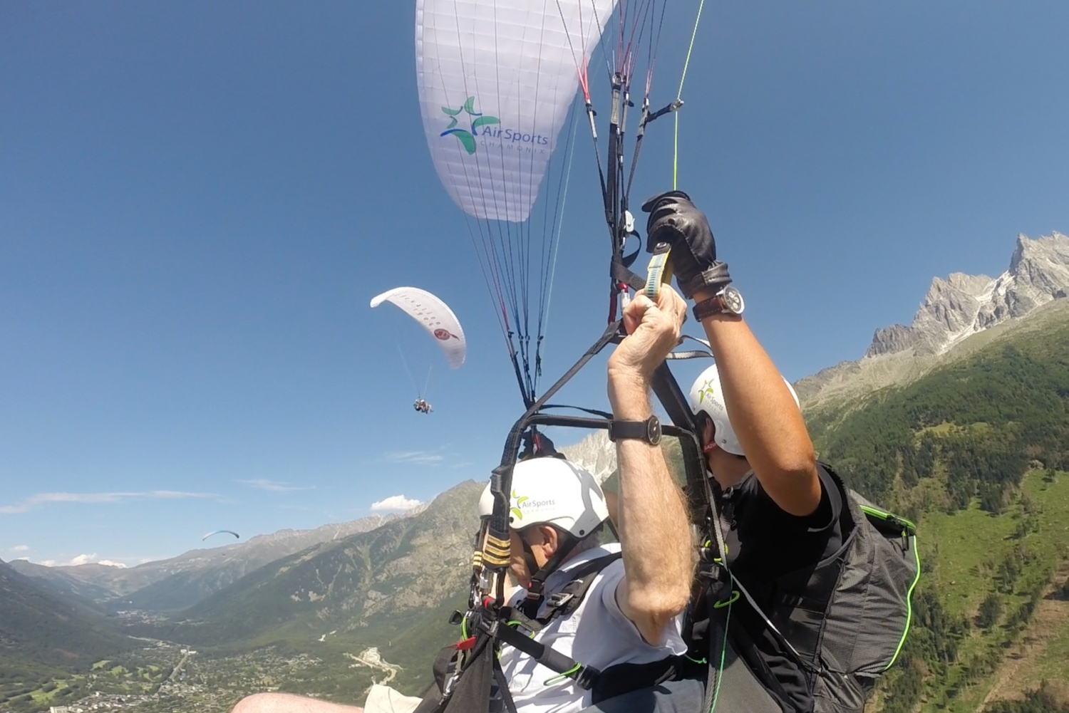 Chamonix and Paragliding Tour