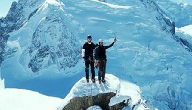 Icicle Mountaineering