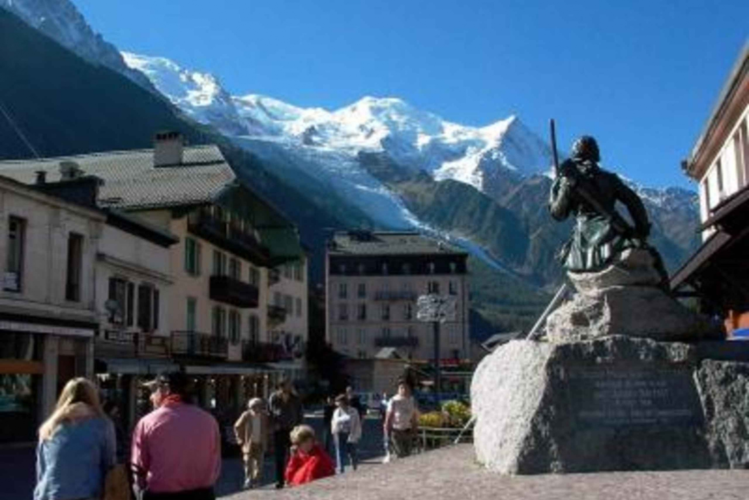 Independent Chamonix-Mont Blanc Sightseeing Tour from Geneva