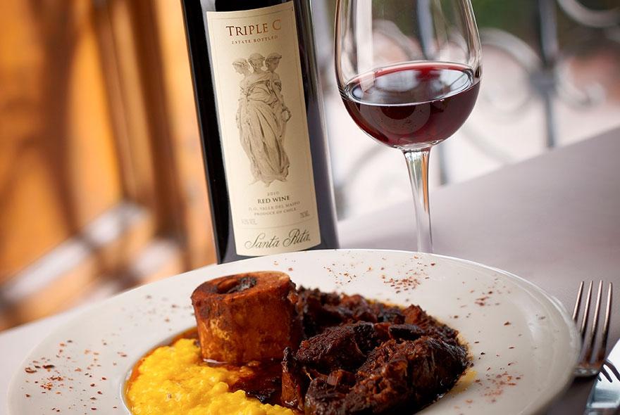 Cuisine Santa Rita Winery