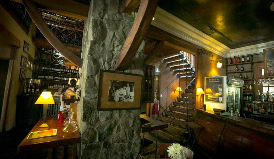 El Meson Nerudiano Restaurant in Chile | My Guide Chile