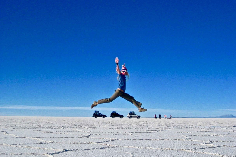 From Atacama: Uyuni Salt Flats Multi-Day Tour