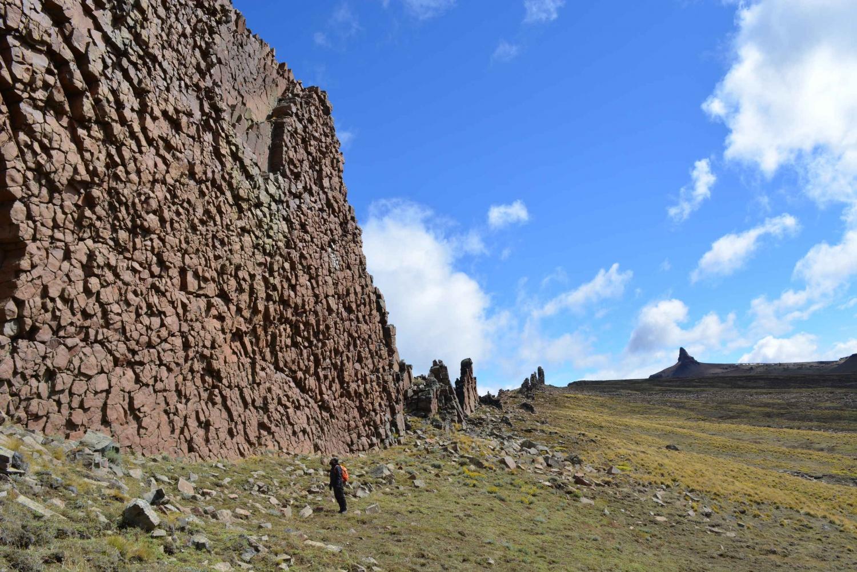 From Puerto Natales: Sierra Baguales Fossil Route Trek