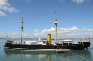 Huascar Battleship