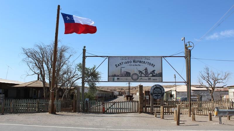 Humberstone and Santa Laura Saltpeter Works