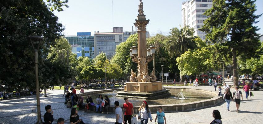 Independence Square in Concepcion