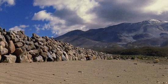 Isluga National Park Volcano