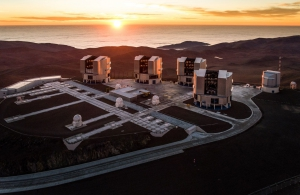 Paranal hill observatory