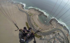 Parapent and air sports