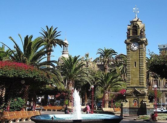 Plaza Colon and Arturo Prat