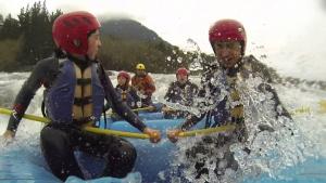 Rafting Liucura