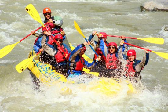 Rafting experience in Chile