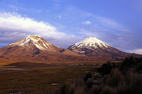 Volcano Nevados de Payachatas
