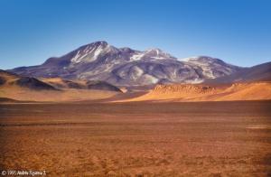 Volcano Nevados Ojos del Salado