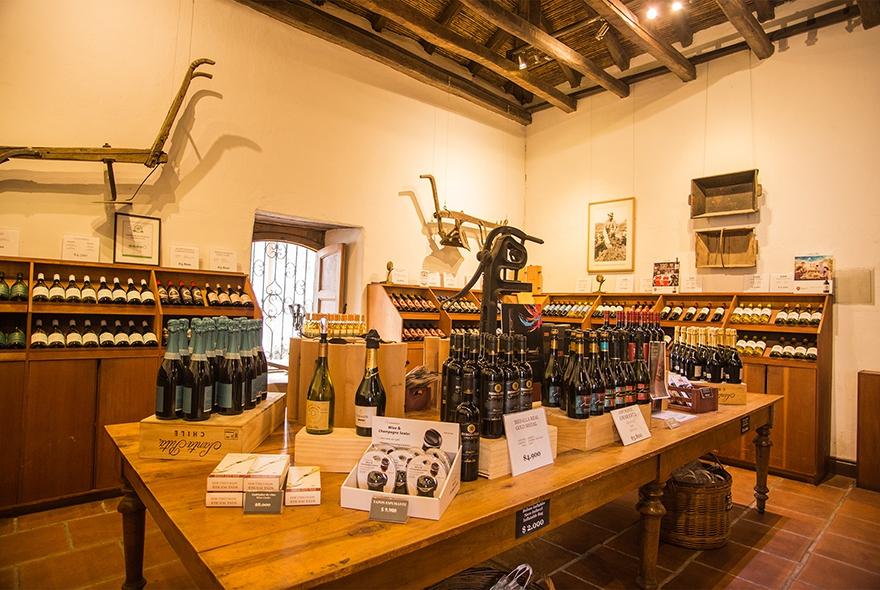 Wine Shop Santa Rita In Chile My Guide Chile