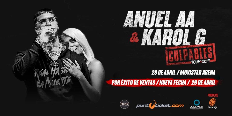 Anuel AA Y Karol GG