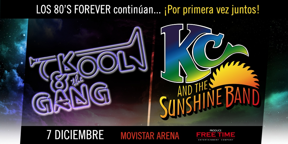 KC and the  Sunshine Band & Kool and the Gang