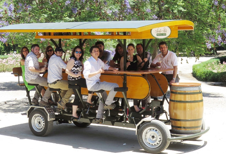 Pedal Bar Tour - Santa Rita Winery