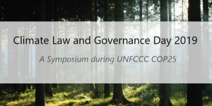 Climate Law and Governance Day 2019