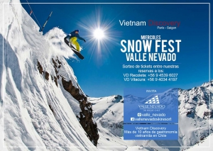 Wednesday Snow Fest at Vietnam Discovery