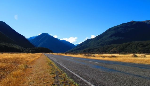 Driving from New Zealand's East to West Coast
