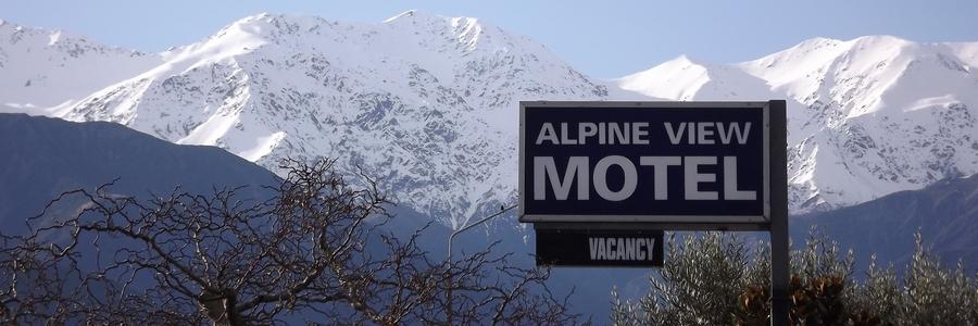 Alpine View Motel Kaikoura