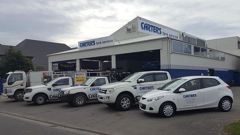 Carters Tyres North Canterbury