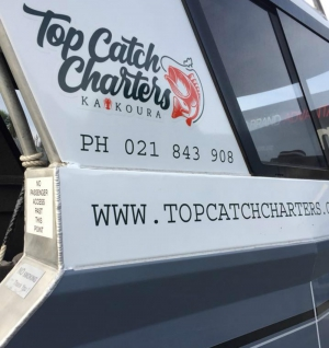Top Catch Charters Kaikoura