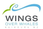 Wings Over Whales Kaikoura