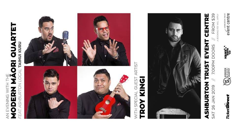 An Evening with the Modern Māori Quartet & Troy Kingi