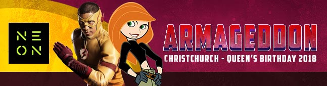 ARMAGEDDON EXPO – CHRISTCHURCH 2018