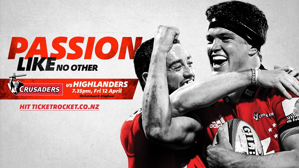 BNZ Crusaders v Highlanders