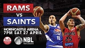 Canterbury Rams vs Wellington Saints
