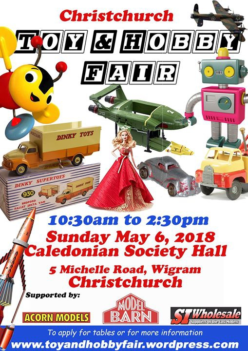 Christchurch Toy & Hobby Fair