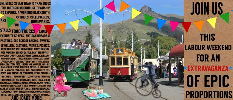 Ferrymead Heritage Labour Weekend Extravaganza