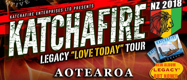Katchafire New Zealand Tour in Christchurch District