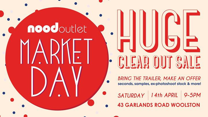Nood Outlet Market Day - Christchurch