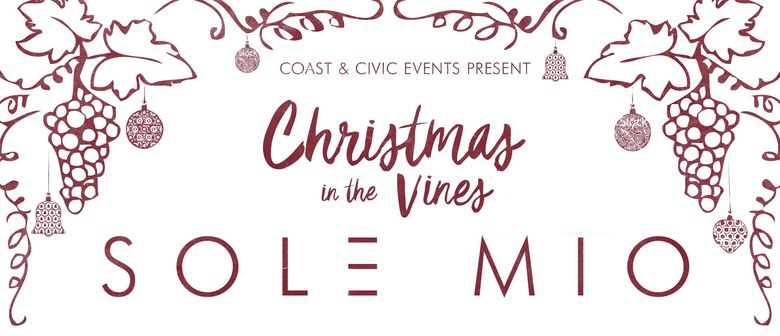 Sol3 Mio: Christmas in the Vines