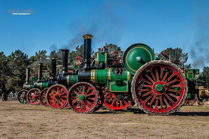 Steam extravaganza. 14th 15th April 2018