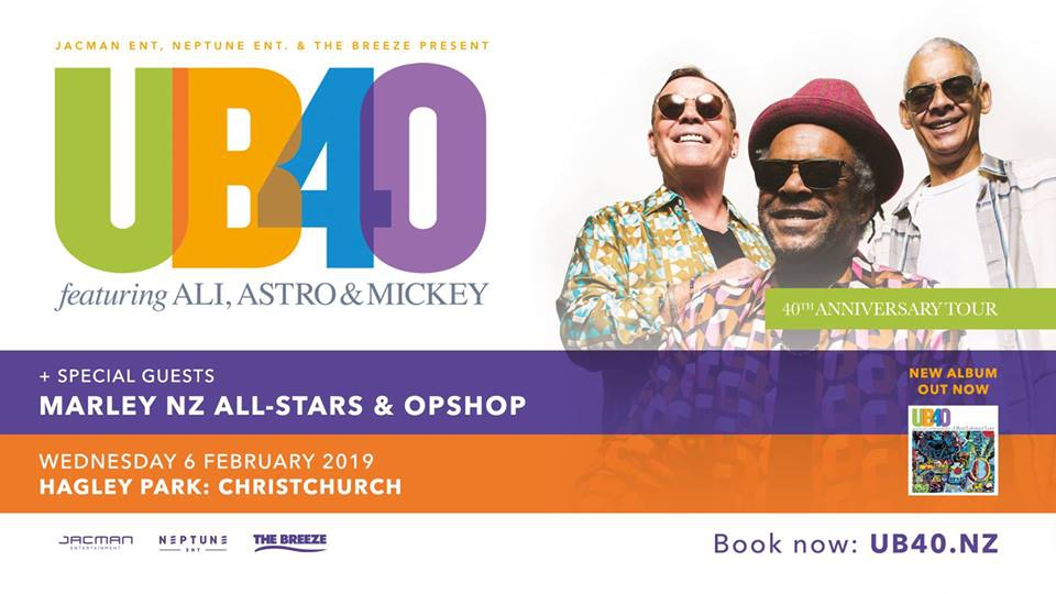 UB40 ft. Ali, Astro & Mickey - Christchurch