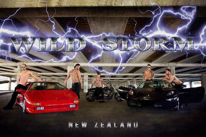 Wild Storm Male Strip Revue 2018 Christchurch!
