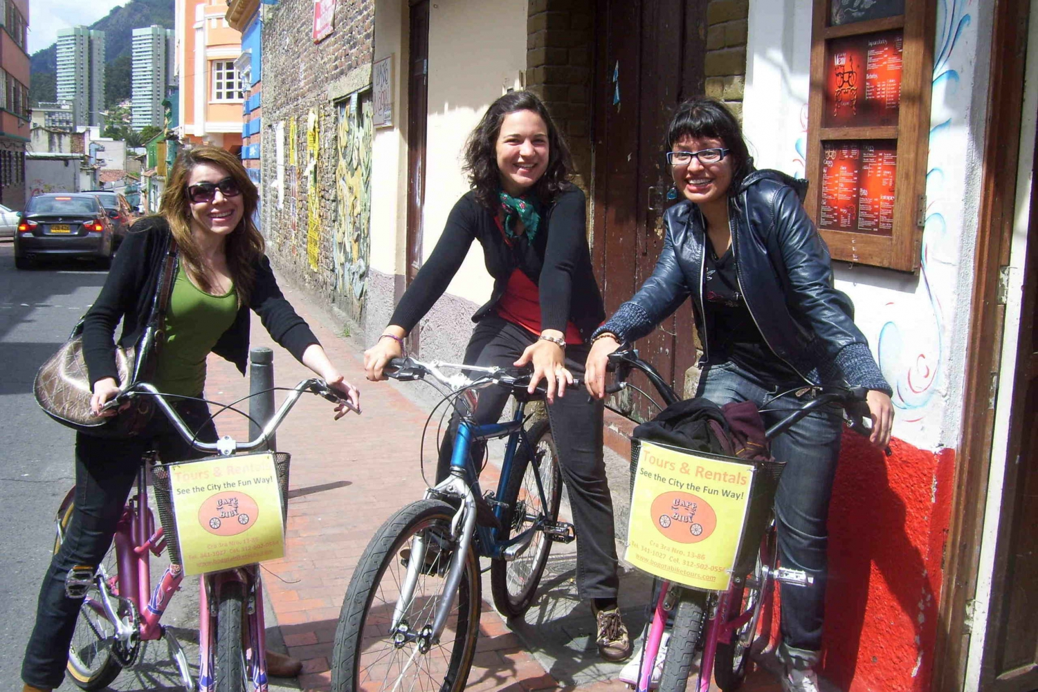Bogota: 4 Hour Bicycle Tour of the City