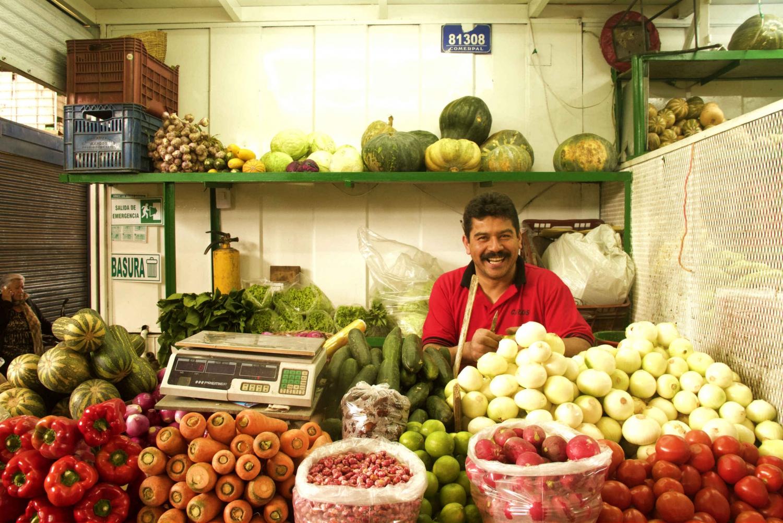 Bogota Food Market Tour