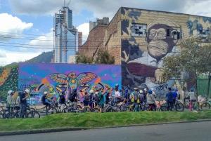 Bogota: Half-Day Graffiti and Street Art Bike Tour