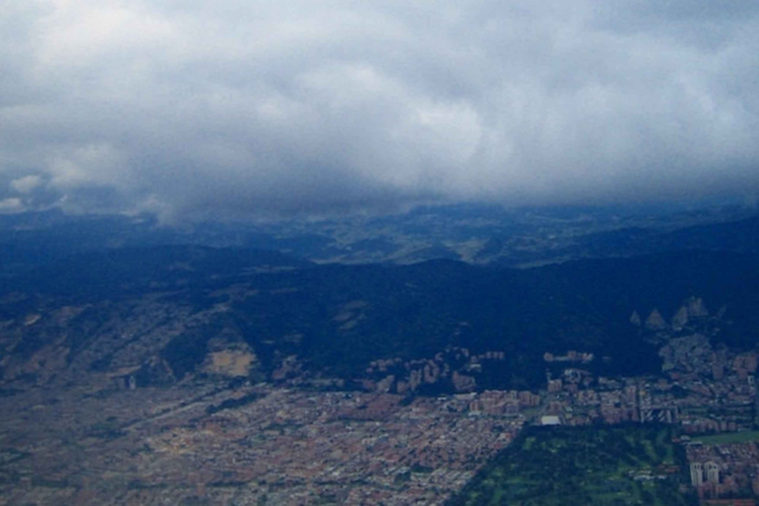 Bogotá Helicopter Tour