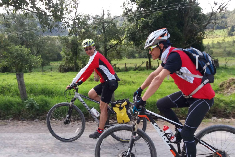 Bogotá: Mountain Biking from La Calera to Choachí