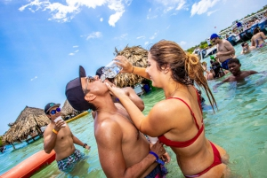 Cartagena: Party Boat to Cholon Island